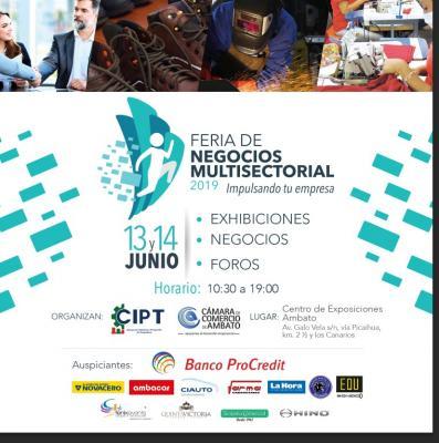 PRIMERA FERIA DE NEGOCIOS MULTISECTORIAL 2019