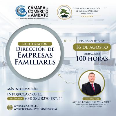 Certificación Dirección de Empresas Familiares